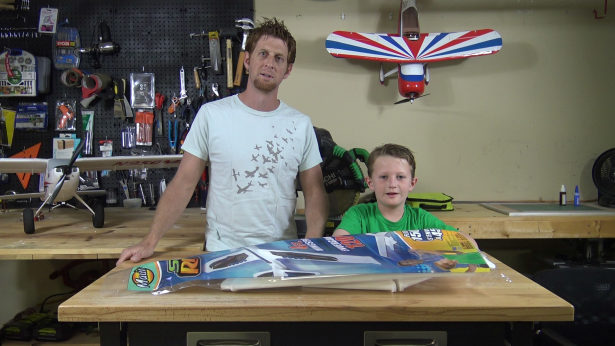 Hacking a Foam Glider with Your Seven-Year-Old