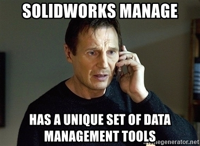 Seven Reasons SOLIDWORKS Manage Is Your Best Bet for Data Management