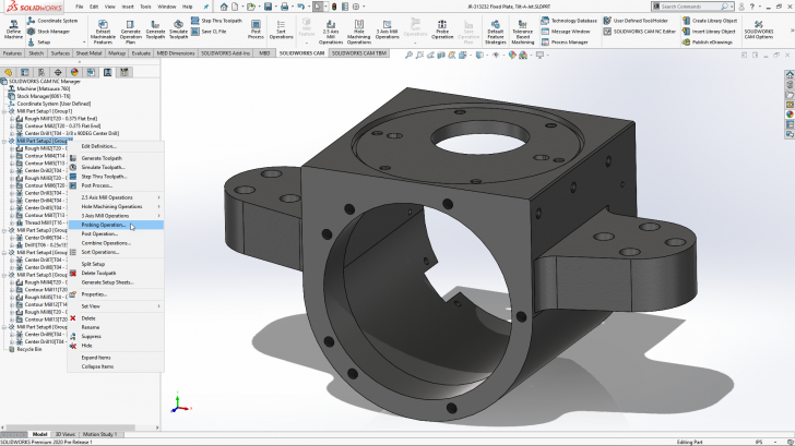 What's New in SOLIDWORKS CAM 2020