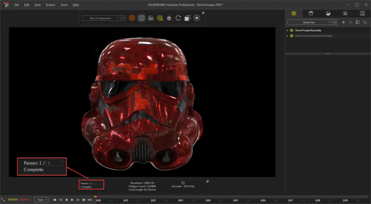 SOLIDWORKS Visualize Introduces NVIDIA RTX Acceleration With up to 50 Percent Faster Performance
