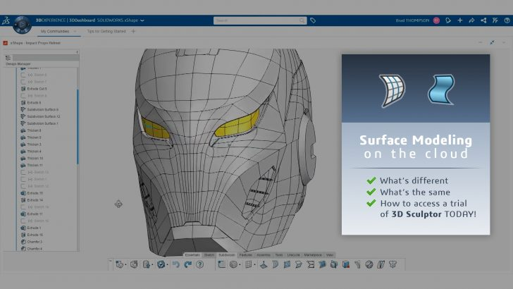 Surface Modeling on the Cloud: Lessons from #3DXW20 and Beyond