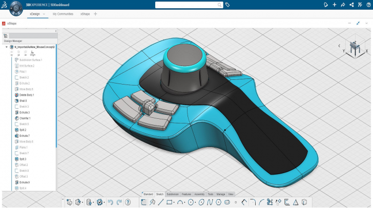 Leverage Machine Learning in 3D CAD