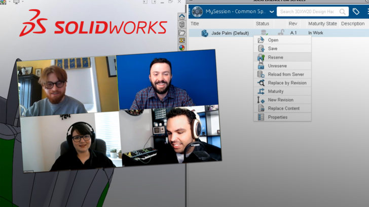 Collaborating Remotely Using SOLIDWORKS: How to Do It Like the Pros