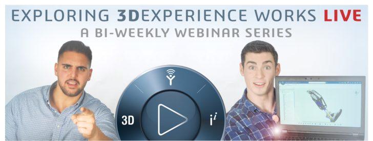 Explore 3DEXPERIENCE WORKS LIVE!