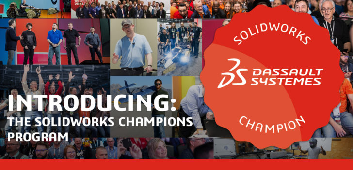"Are you a Passionate, Certified SOLIDWORKS User? You could be a ""Champion!"""