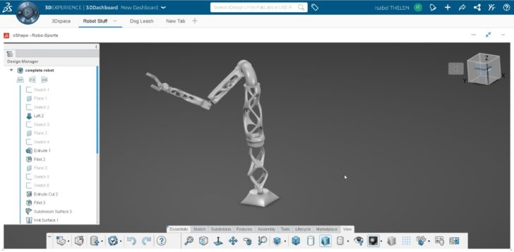 Students Experiment with the 3DEXPERIENCE Platform