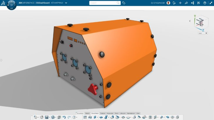 Create Production-Ready Sheet Metal Designs with Powerful Browser-based Solution