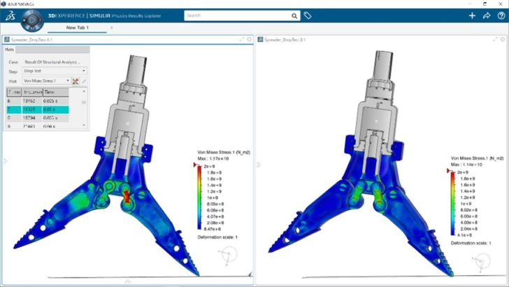 New Seamless SOLIDWORKS Workflow with Proven Advanced Simulation (Abaqus) and Faster Collaboration