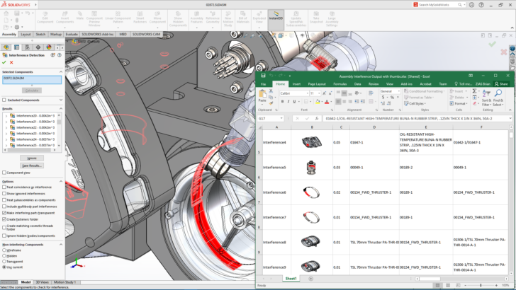 New Assembly Productivity Tools in SOLIDWORKS 2021