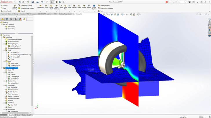 What's New in SOLIDWORKS Flow Simulation 2021