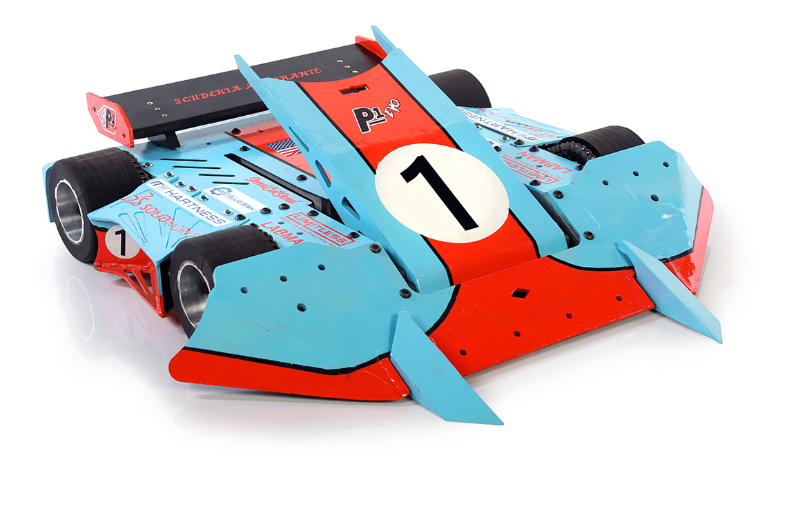How SOLIDWORKS Visualize Helped P1 Evo Make it to BattleBots