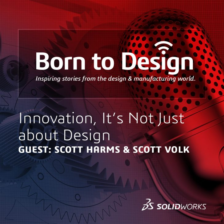 Innovation, it's not just about design [Born to Design Podcast]