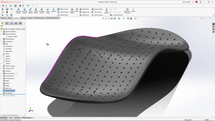 DTV Shredder Part Two: Part Design with <b>3D</b>EXPERIENCE SOLIDWORKS