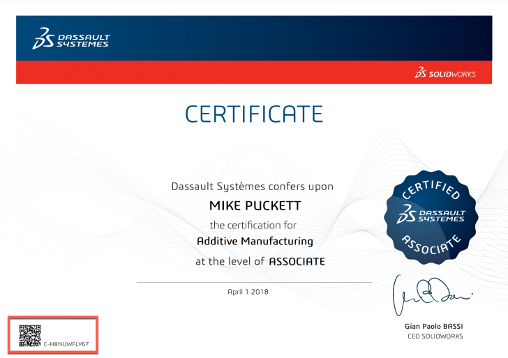 The Value of the SOLIDWORKS Certifications You Earn is Our Top Priority