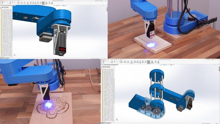 Let's Make: a DIY Laser-Engraving Robot