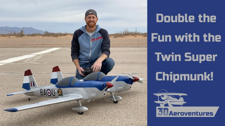 Double The Fun with the Twin Super Chipmunk R/C Aircraft Design