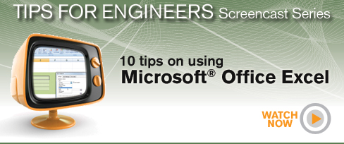 Tips for engineers