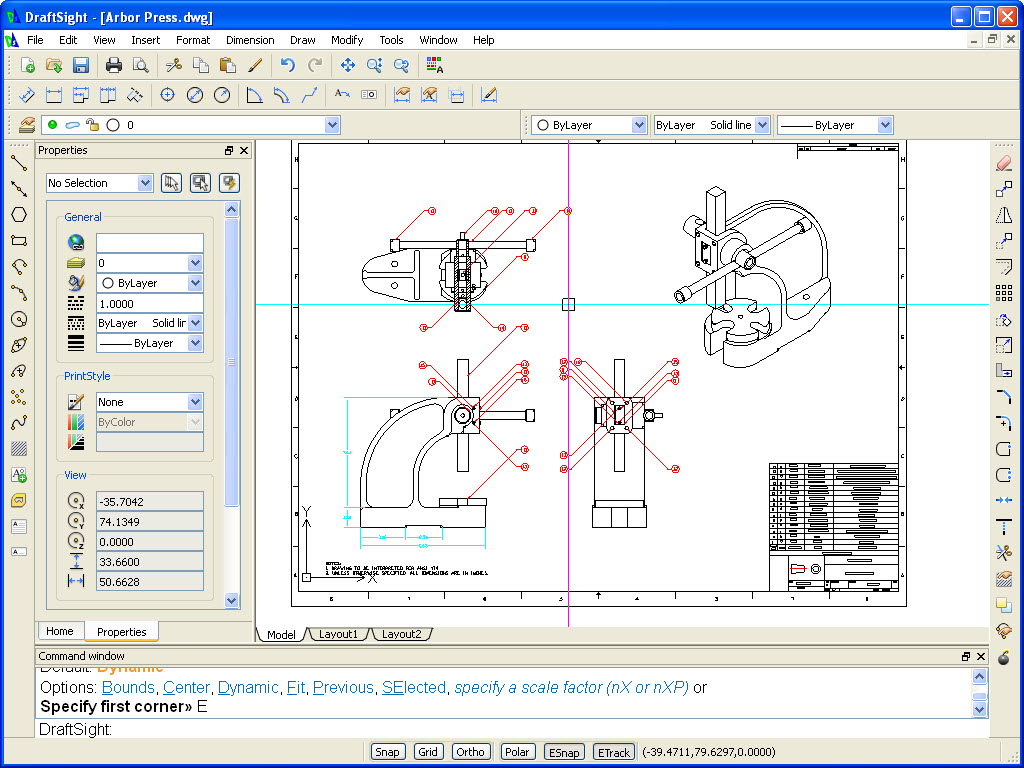 Introducing draftsight a free 2d drafting tool new from for Wohnraumplaner kostenlos 3d