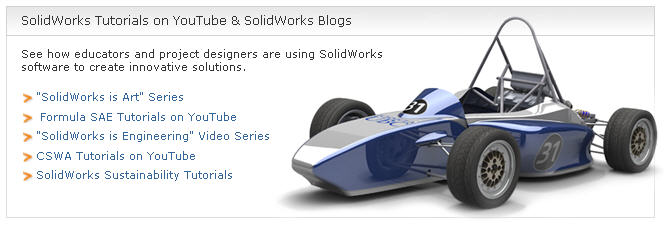 SolidWorks Tutorials on YouTube And SolidWorks Blogs