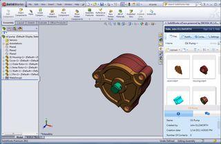 SolidWorks n!Fuze Task Pane
