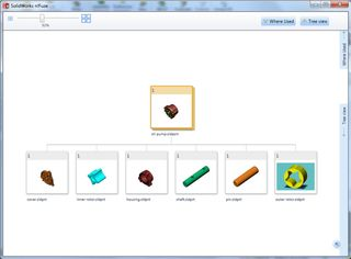 SolidWorks n!Fuze Tree View