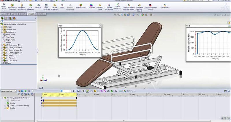 SolidWorks Motion 2012