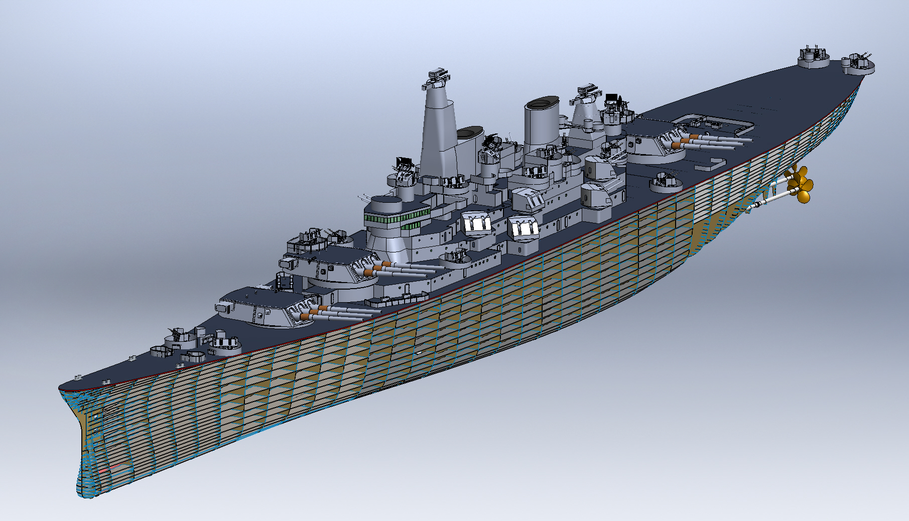 How To Turn A Battleship Replica Into A Naval Inventory Tool