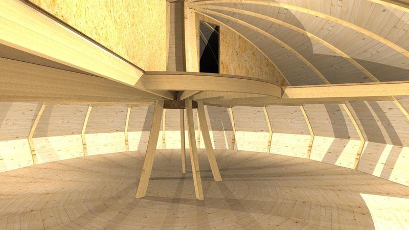 Domespace Dome Interior -  Center