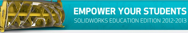 SolidWorks Education Edition 2012 2013