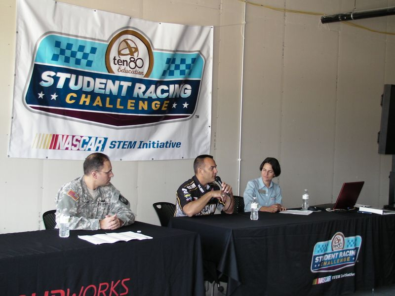 Tony Schumaker Speaks at Student Racing Challenge
