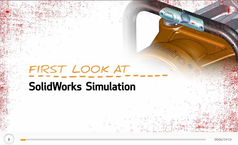 First Look SolidWorks Simulation