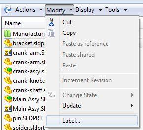 Tips for Using Enterprise PDM's Label Function