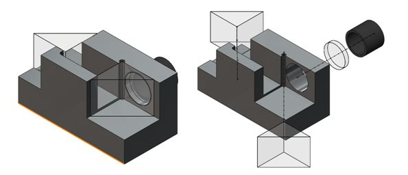 Mating Linear and Spherical Components