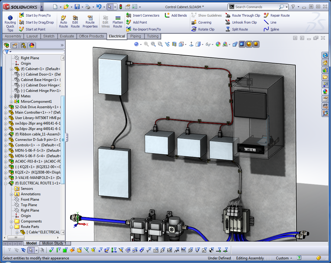 SolidWorks Routing – Putting Power Into Your Designs