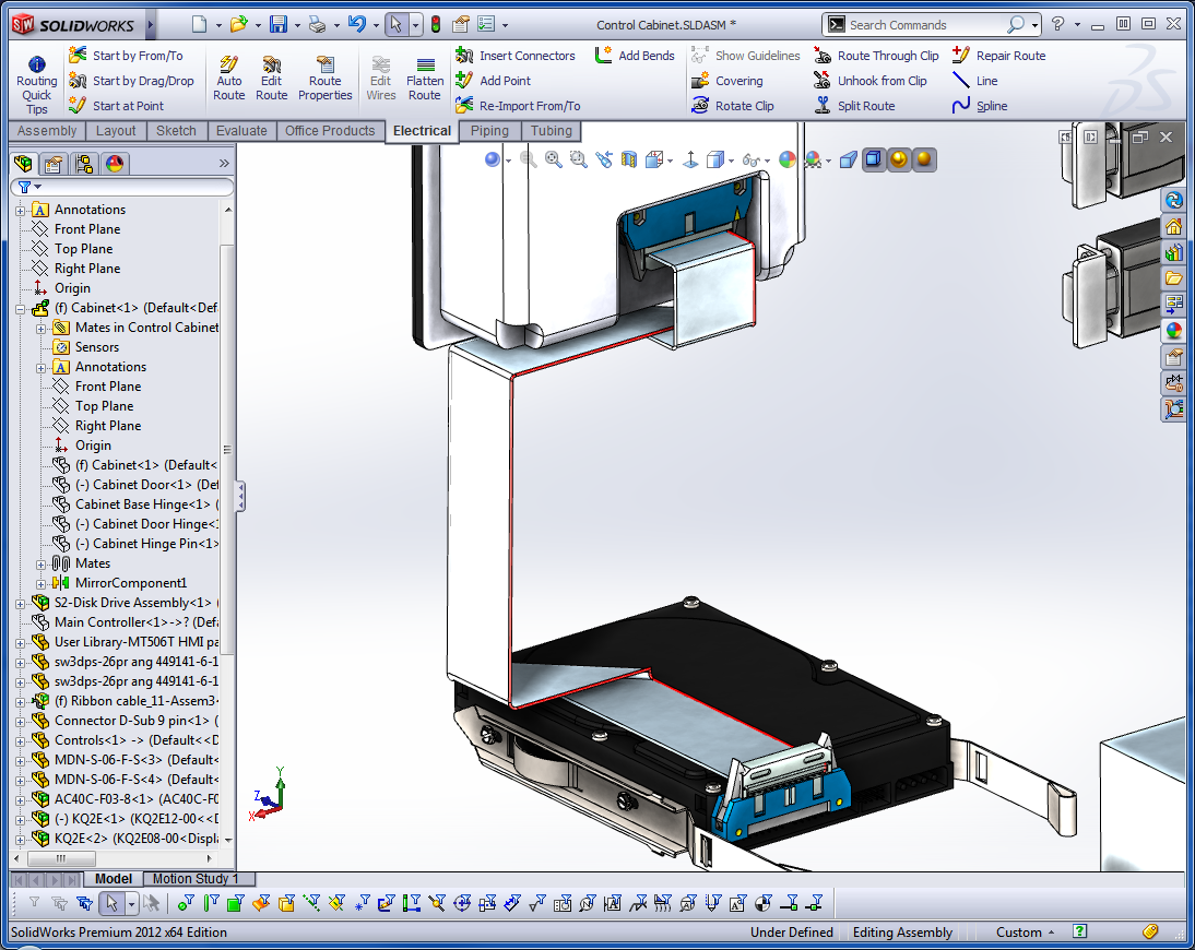 Solidworks Routing Putting Power Into Your Designs The First Schematic Shows Global Loom With Colours Wire Diameters Alternatively You May Need To Use Standard Off Shelf Cables Image Below A 300mm Long Cat5 Cable All Thats Required Is Place