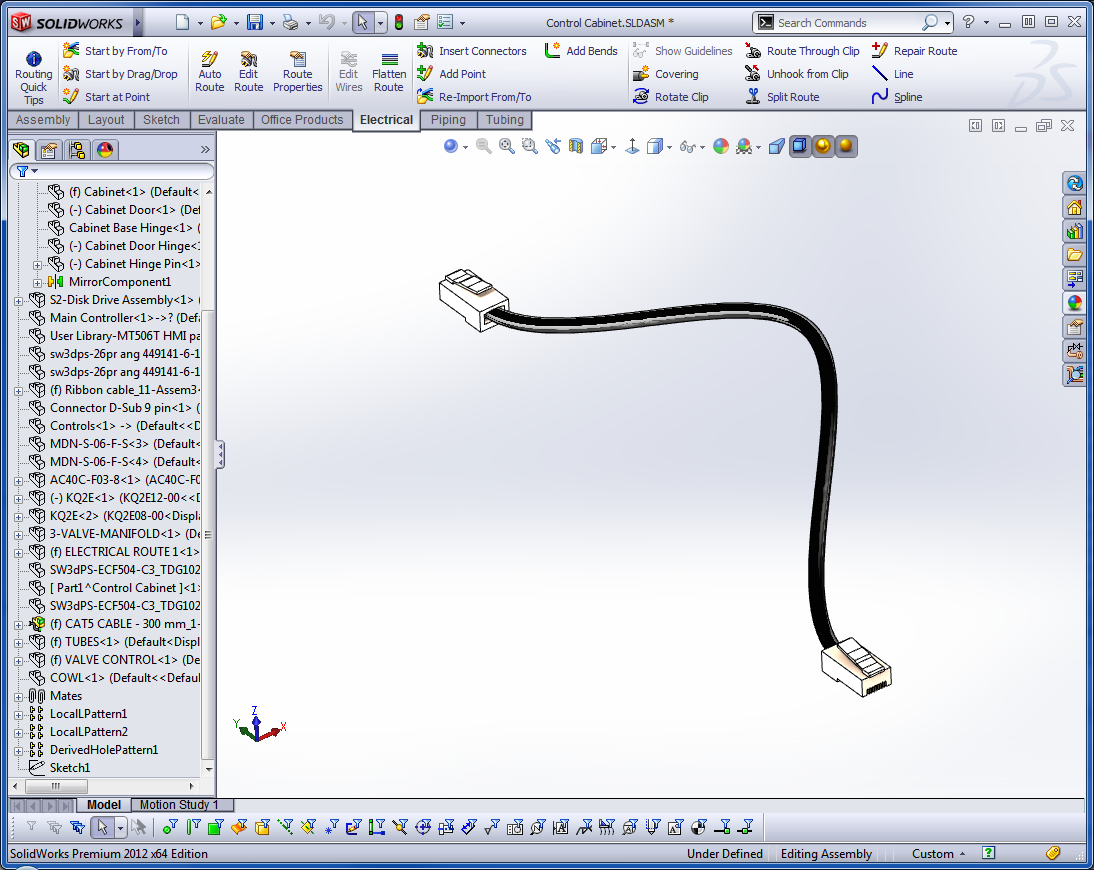 Solidworks Routing Putting Power Into Your Designs Wire Harness Drawing Standards 3