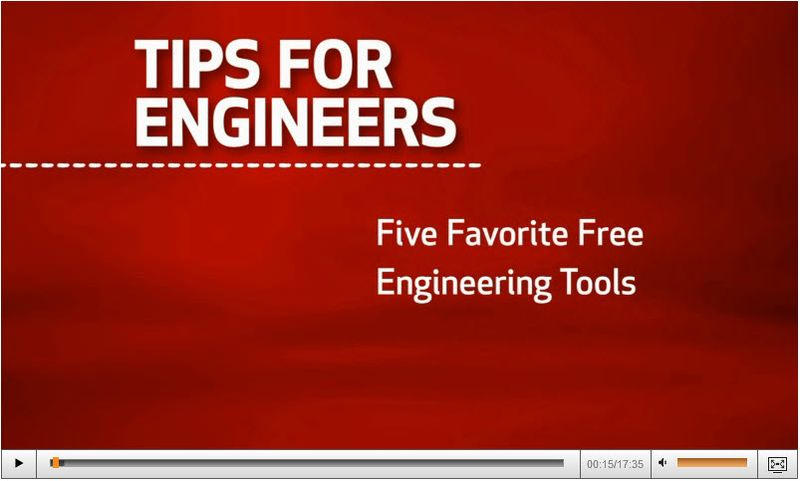 Free Tools For Engineers