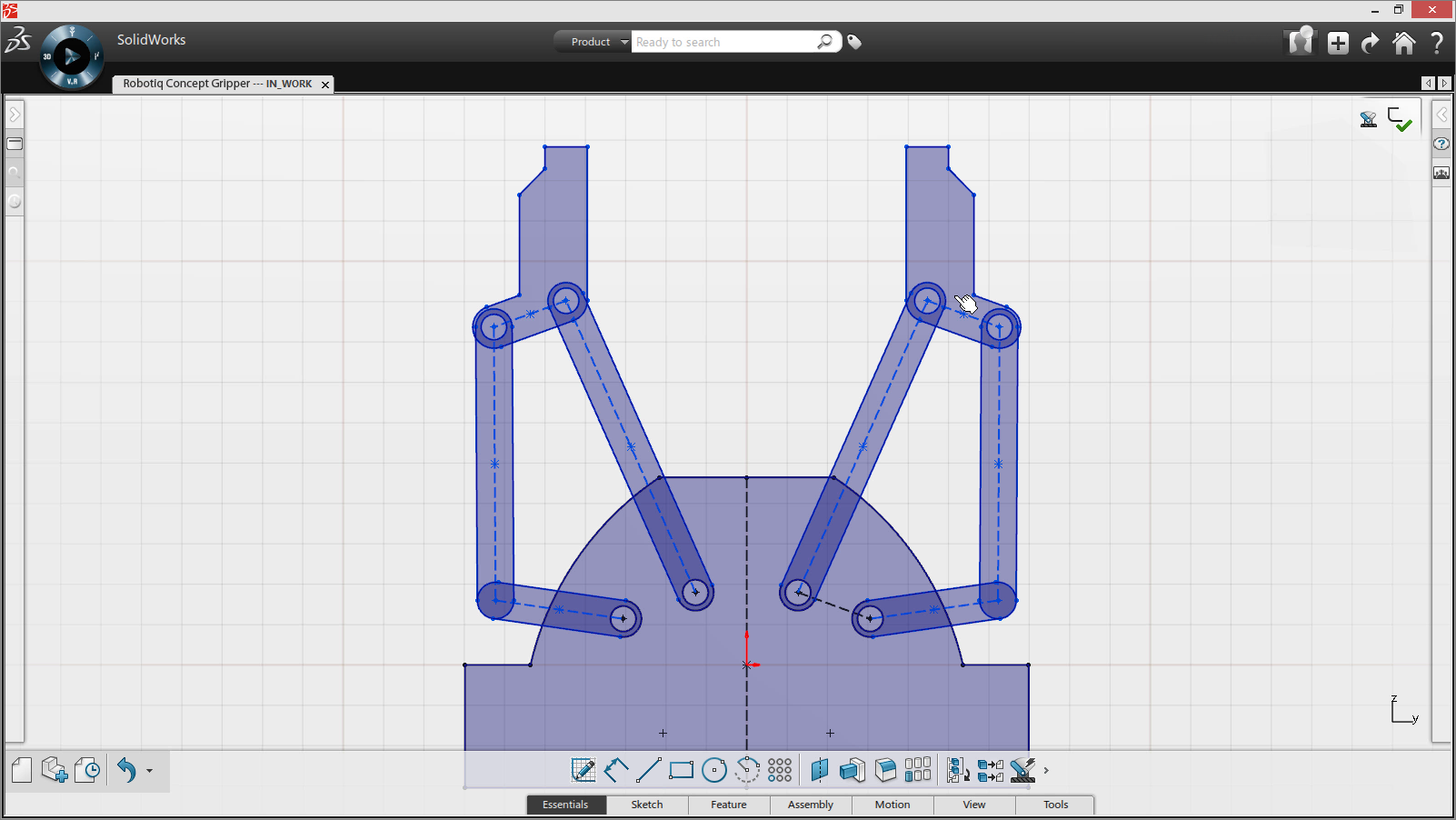 Introducing solidworks mechanical conceptual a new way to for Conceptual designs