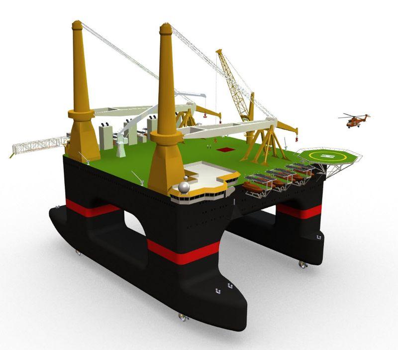 Leenaars BV Offshore Design designed by SolidWorks