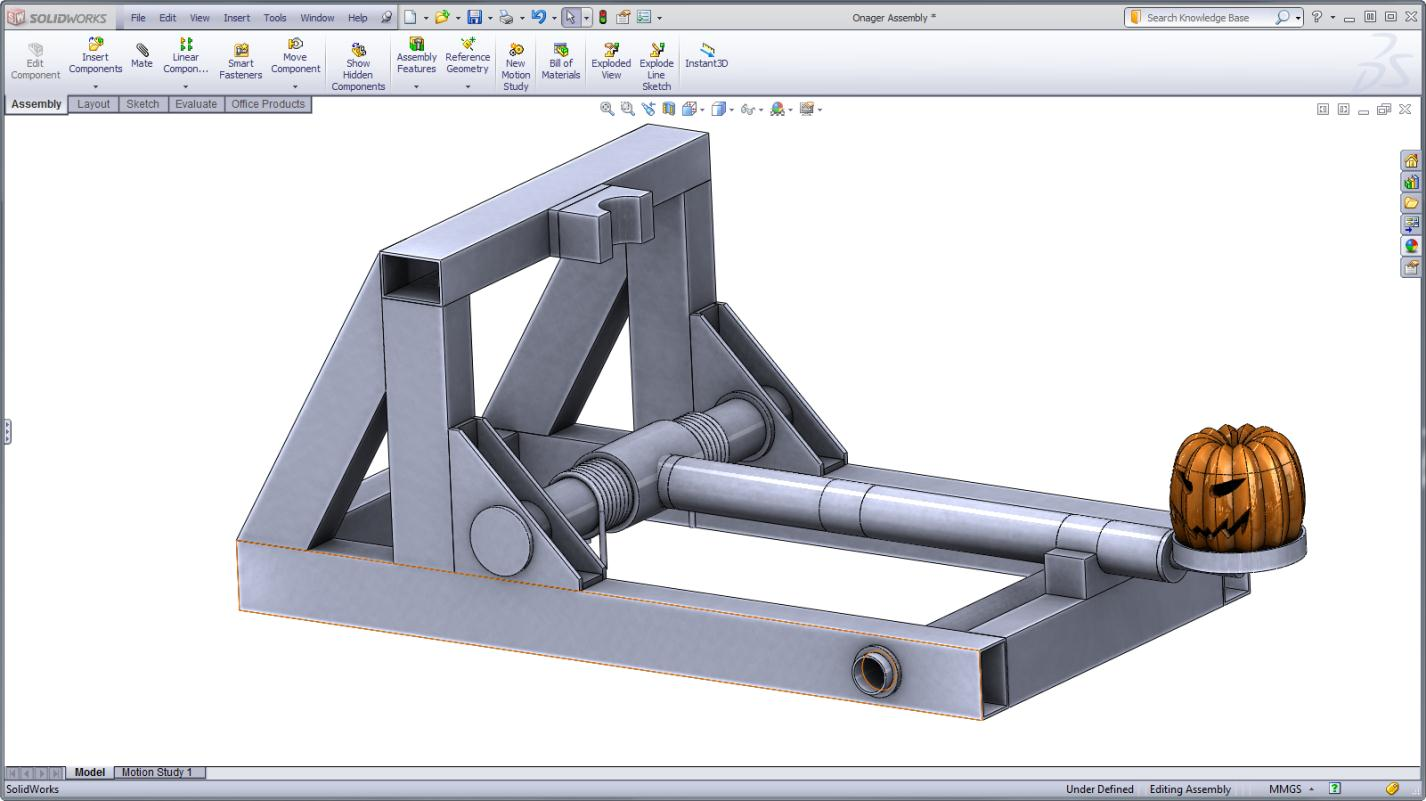 Maximize your punkin' chunkin' catapult with SolidWorks Simulation