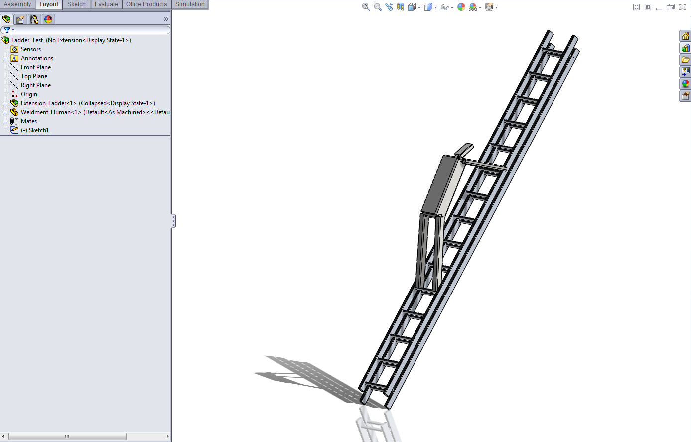 Climbing Ladders With SolidWorks: Don't Just Stress About Strength