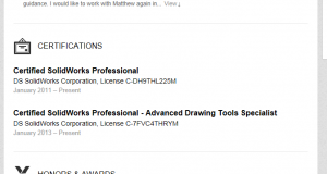 Here's how to show off your CSWP on LinkedIn (and vice versa)