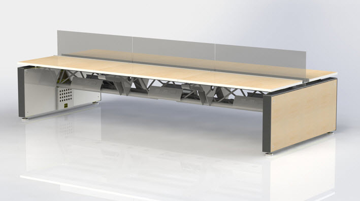 Teknion Furniture designed in SolidWorks