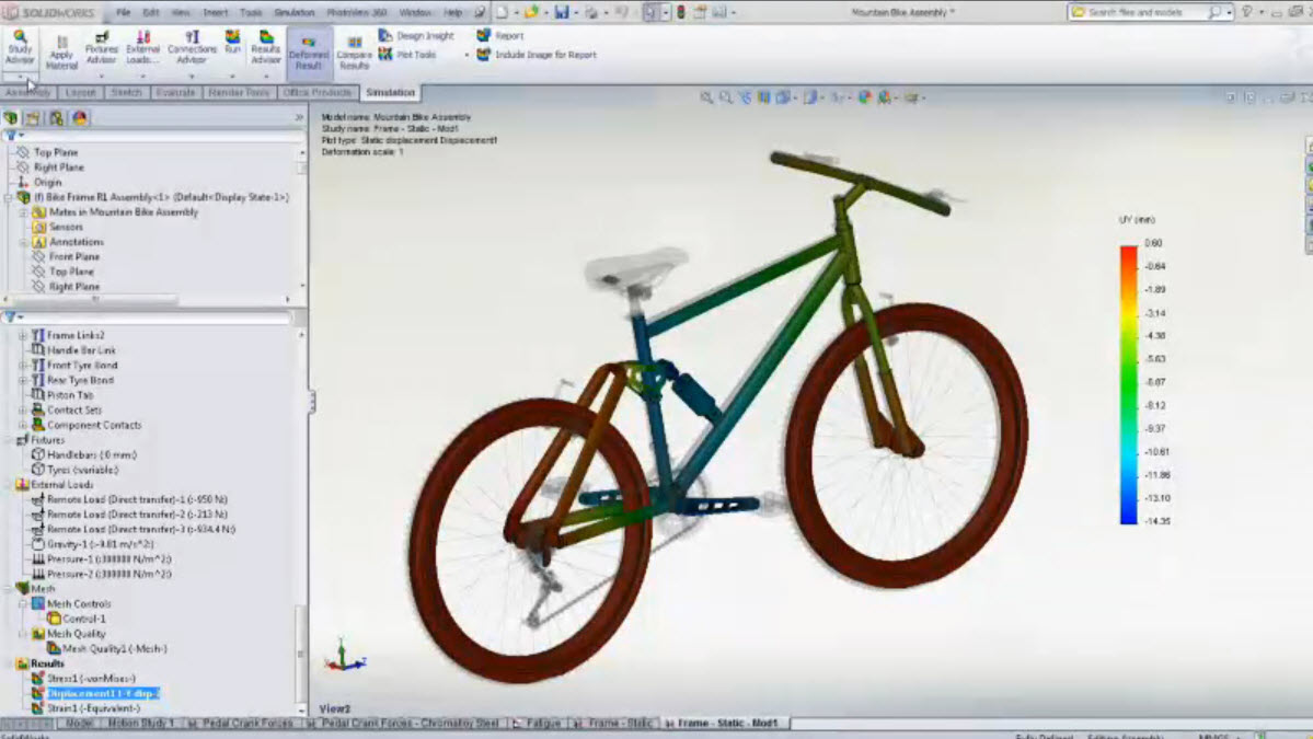 Discover and Fix Your Vibration Vulnerability with SolidWorks Simulation