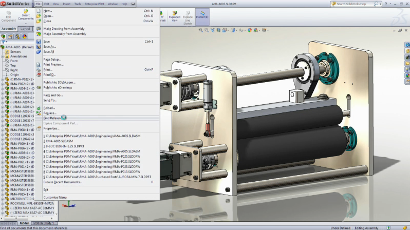 SolidWorks EPDM helps you save time and recover lost files