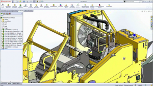Large Assembly Details created in SolidWorks