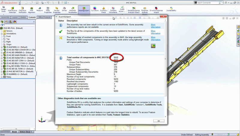 Large Assemblies Made Easy with SolidWorks