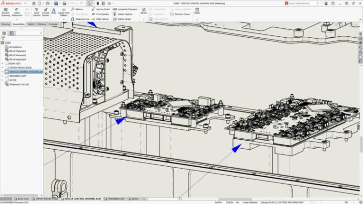 What's New in SOLIDWORKS 2021 – Modo de detalhamento e desempenho de desenho