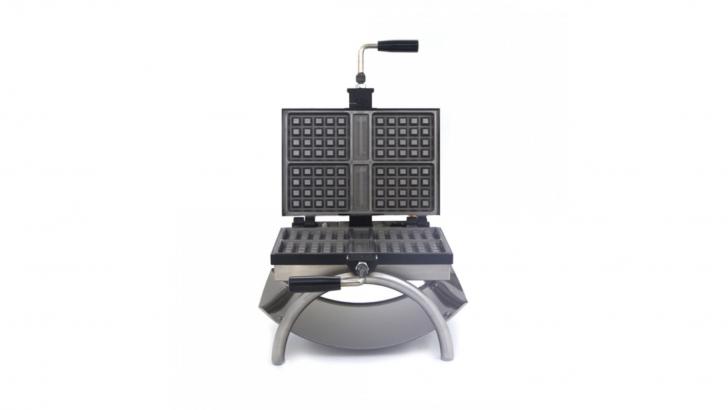 Progresso da HVD com suas máquinas de waffles