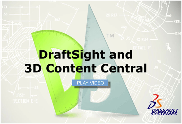 DraftSight e o 3D Content Central